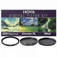Набор светофильтров Hoya KIT: UV (C) HMC MULTI, PL-CIR, NDX8 37MM
