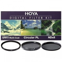 Набор светофильтров Hoya KIT: UV (C) HMC MULTI, PL-CIR, NDX8 62.0MM