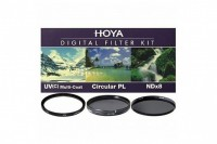 Набор светофильтров Hoya KIT: UV (C) HMC MULTI, PL-CIR, NDX8 72.0MM